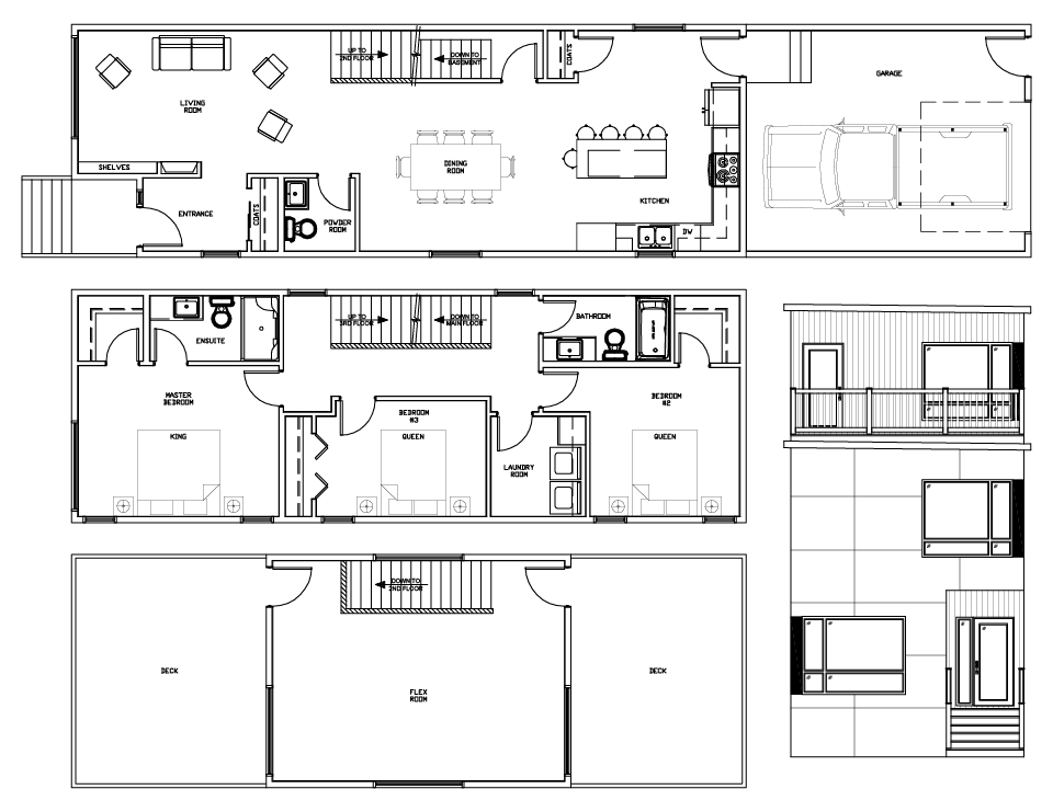 Rowan floor plan